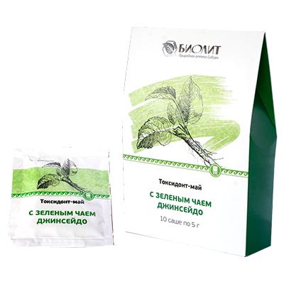 Токсидонт-май зеленый чай