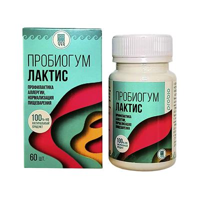 Пробиогум Лактис таблетки